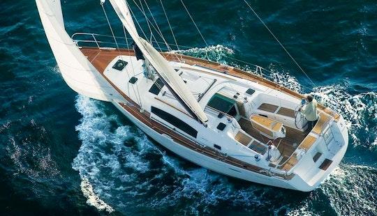 Oceanis 323 Sailing Monohull Charter In Arona