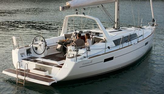 Oceanis 41 Sailing Monohull Charter In Arona