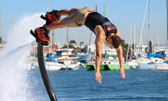 Iron-man Flyboard Rental & Training In San Diego