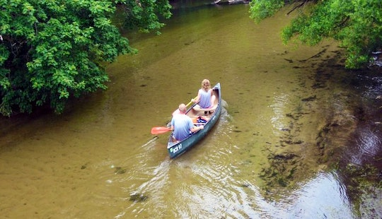 Old Town Canoe Rental In Pleasant Plains Township