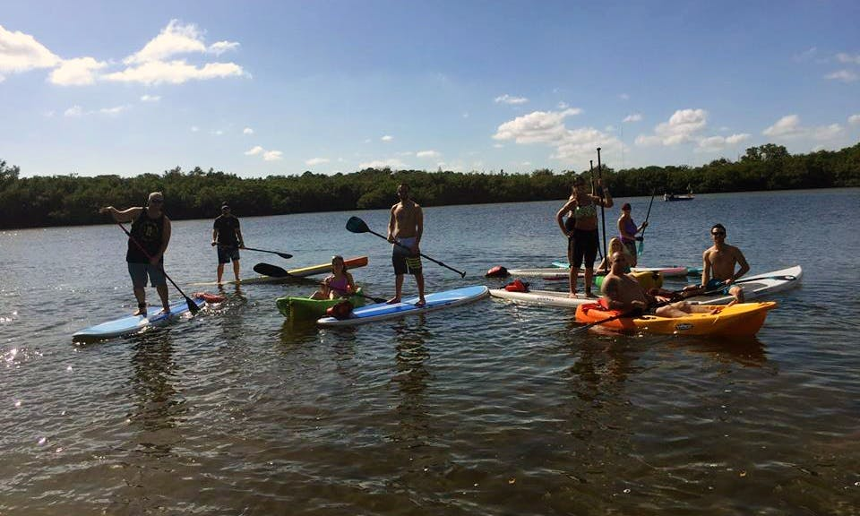 Memorable Kayaking trip in Tampa, Florida with your family!