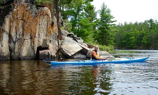 Kayak And Canoe Rental On Rainy Lake