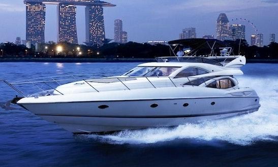Charter 67' Sunseeker Power Mega Yacht In Serapong, Singapore