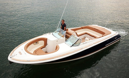 28' Chris Craft Launch Bowrider Rental In Allanbrooke, Singapore