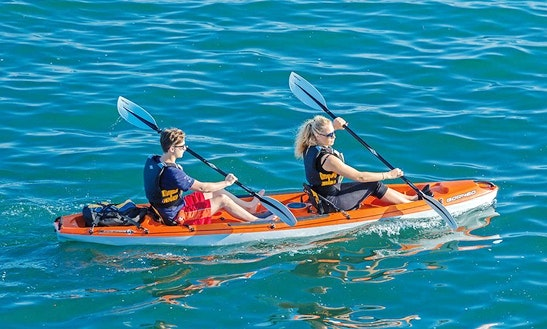Double Kayak Rental & Trips In Langebaan