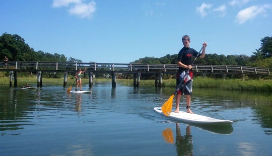 Stand Up Paddleboard Rental & Lessons In Wellfleet