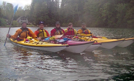 Guided Kayaking Tours In Cowichan Valley D