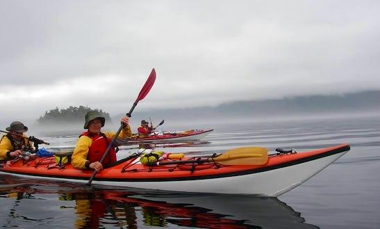 Fishing Kayak Tours In Cowichan Valley D