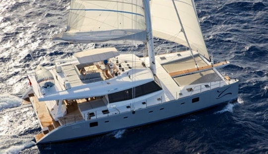 Sailing Charter 62' Cruising Catamaran In Serapong, Singapore