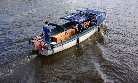 36' Electric Boat Charter In Amsterdam, Netherlands