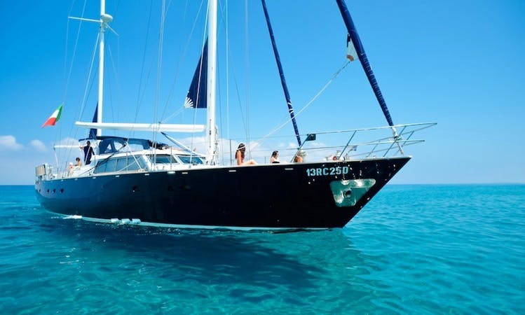 Charter 65' Sailing Yacht In Tropea