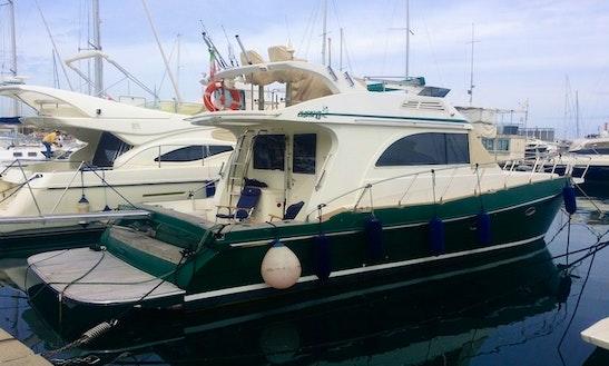 Charter Sagene 40 Fly Yacht In Tropea