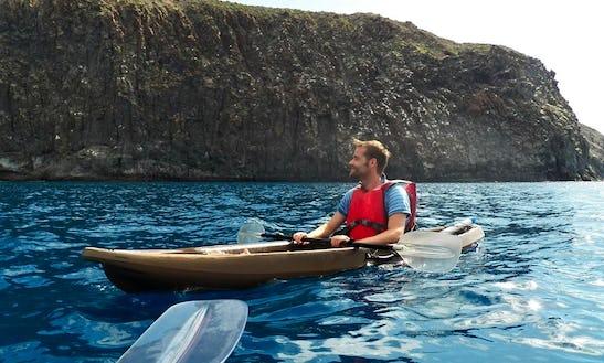 Kayaking To Los Cristianos Bay In Arona, Spain
