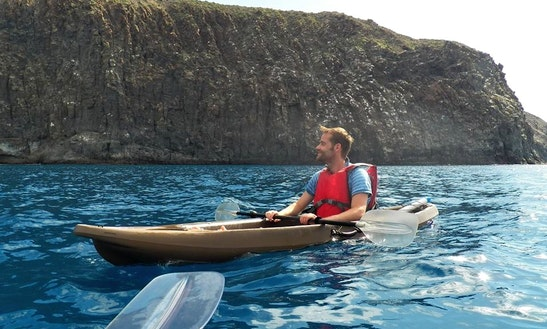 Single Kayak Rental & Tours In Arona, Spain