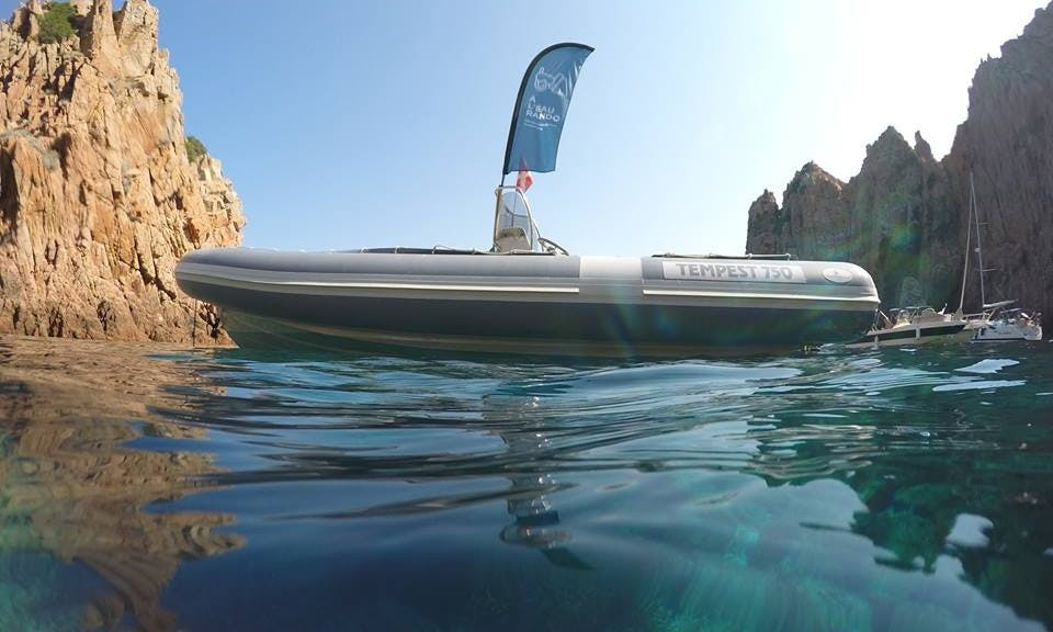 RIB Trips in Cargese, France