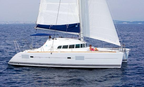 'vega' Lagoon 410 S2 Catamaran Charter & Trips In Carloforte