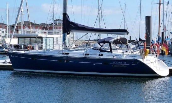 'hamal' Oceanis 411 Celebration Monohull Charter & Trips In Carloforte
