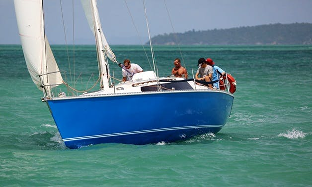 """Captained Charters on """"PICCOLO""""  in Phuket, Thailand"""