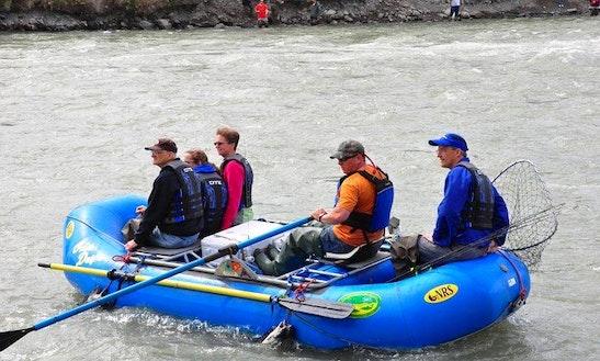 14' Paddle Boat Rental In Copper Center, Alaska