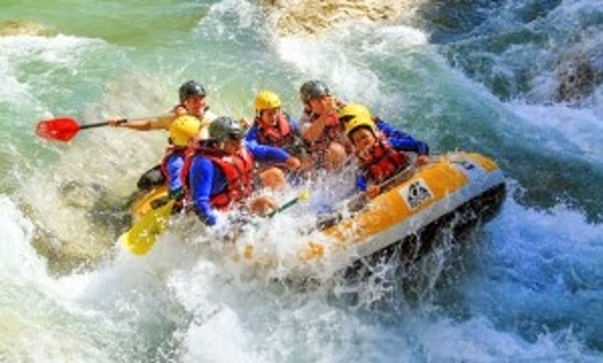 White Water Rafting Trips For 8 People In Castellane, France