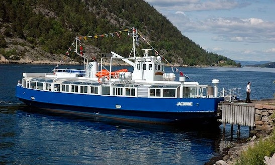 Mf Jacobine Boat Charter In Oslo, Norway