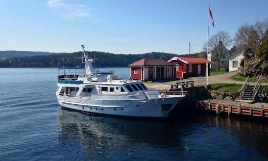 M/y Zanzibar Motor Yacht Charter In Oslo, Norway