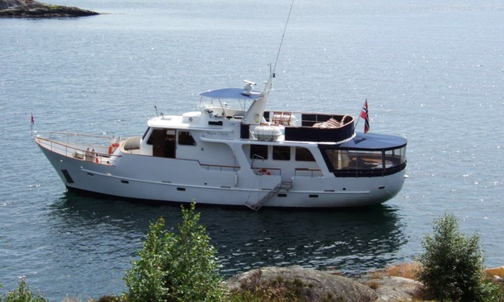 my marie claire yacht charter in oslo norway getmyboat. Black Bedroom Furniture Sets. Home Design Ideas