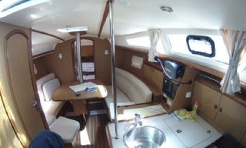 "Charter a 31ft ""Ristretto 1"" Sun Odyssey Yacht in Vodice, Croatia"