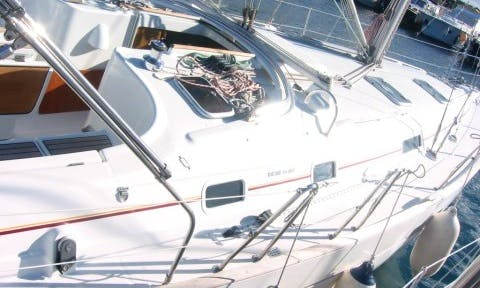"Charter a 40ft ""Hypo"" Oceanis Cruising Monohull in Vodice, Croatia"