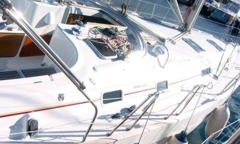 "Charter a 40ft ""Hypo"" Oceanis Cruising Monohull in Vodice, Croatia"