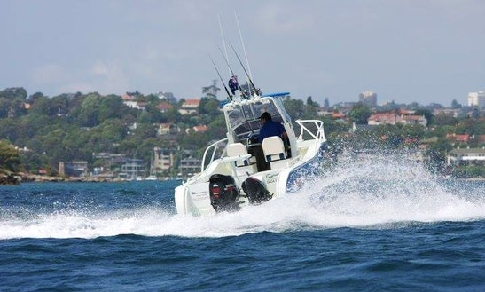 Enjoy Cruising On 22'  Cetre Cabin Boat In Drummoyne, New South Wales