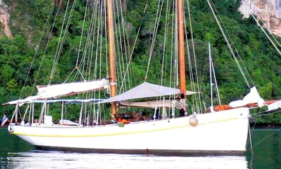 Sailing Charters On Seraph From Phuket, Thailand