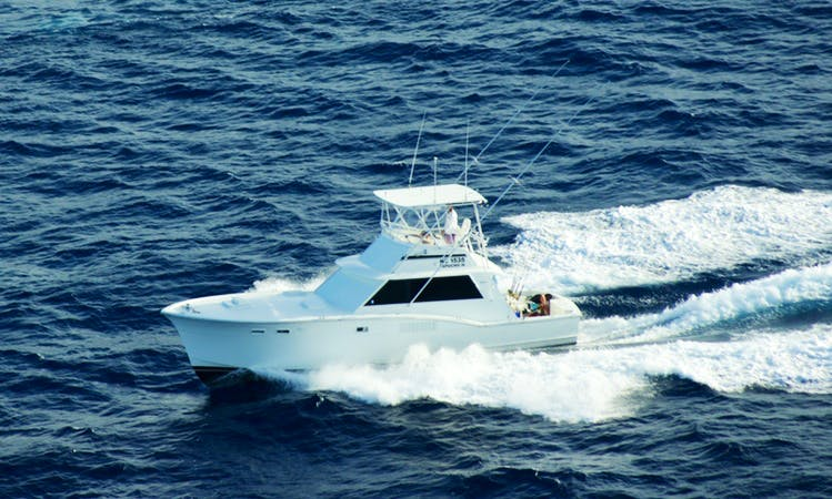 "Fishing Charter on ""Papucho IV"" off the Coast of Curacao"
