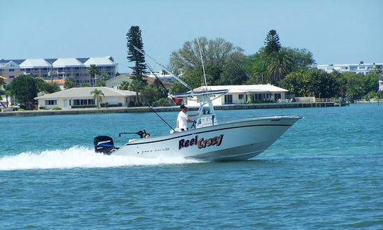 """Saint Petersburg Fishing Charter On 24' """"reel Crazy""""  Boat With Captain Brandon"""