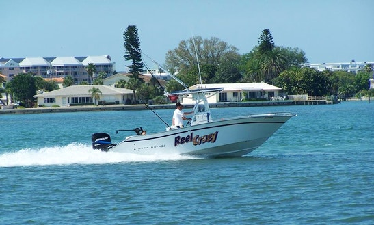 "Saint Petersburg Fishing Charter On 24' ""reel Crazy""  Boat With Captain Brandon"