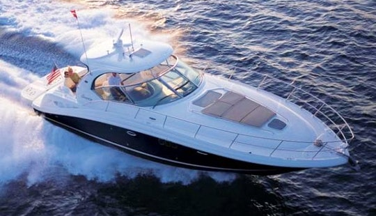 Enjoy Pristine 44' Sport Yacht Captained Charter In Fort Lauderdale