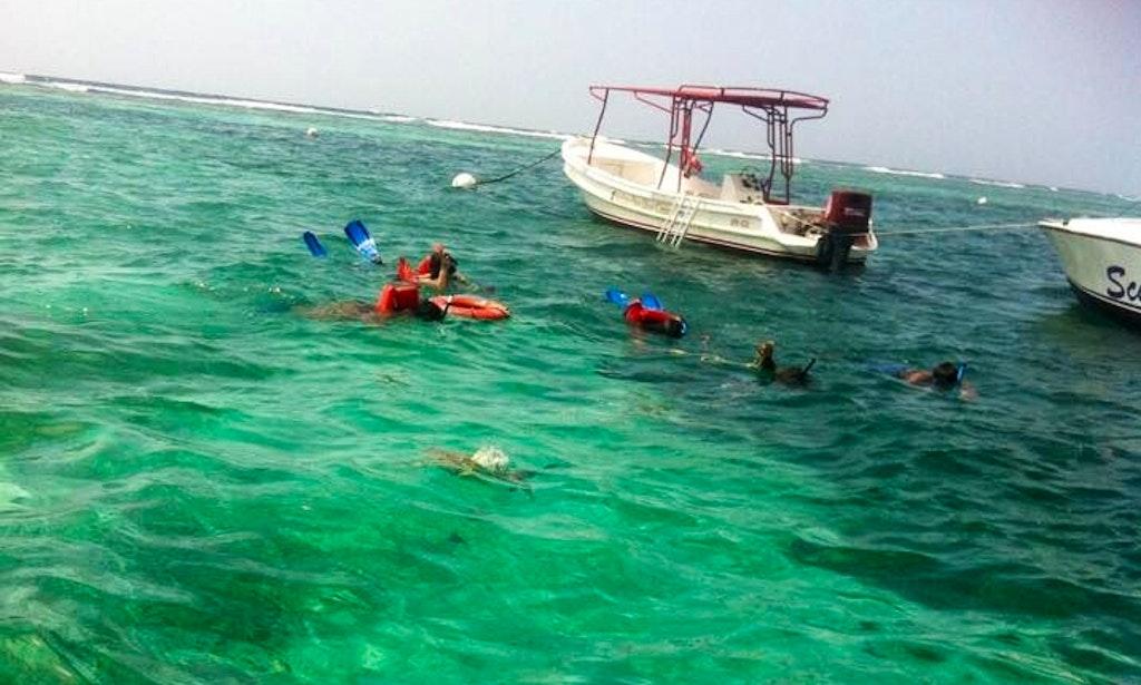 Fishing boat charter in caye caulker belize getmyboat for Belize fishing charters