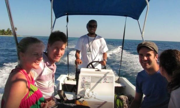 Fishing Charter on Center Console From Placencia