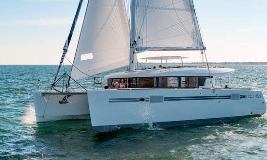 Rent 450 S Sportop Catamaran Captained In Algarve