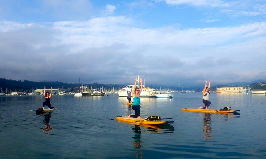 OnBoard SUP Yoga Classes in Sausalito and San Rafael