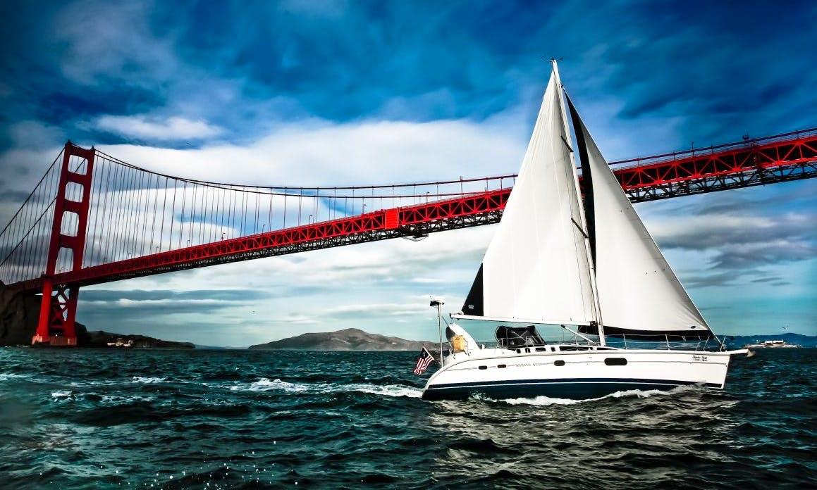Hunter 41 Sailing Monohull Charter on San Francisco Bay