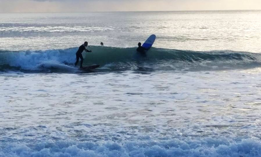 Surfing In Falmouth