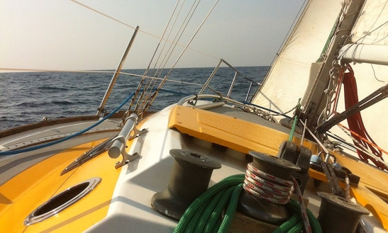 Sailing On A Vintage 30 Ft Yacht In Provence Explore It's Scenic Parts