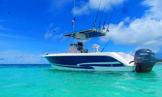 Fishing Charter In A Comfortable 27' Center Console