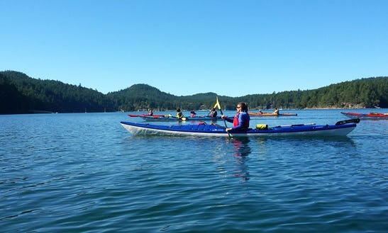 Kayak Rental On Pender Island