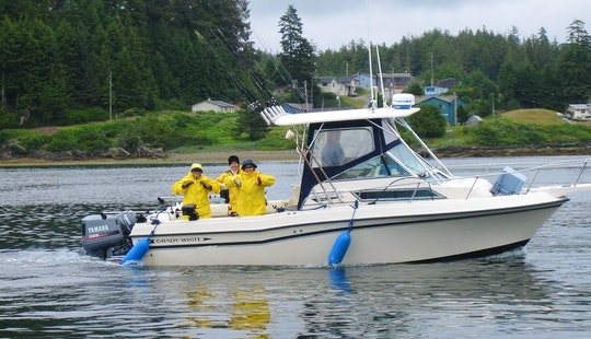 24' Fishing Charter In Ucluelet
