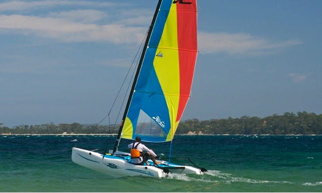 Hobie Cat Sailing Tour In Koror