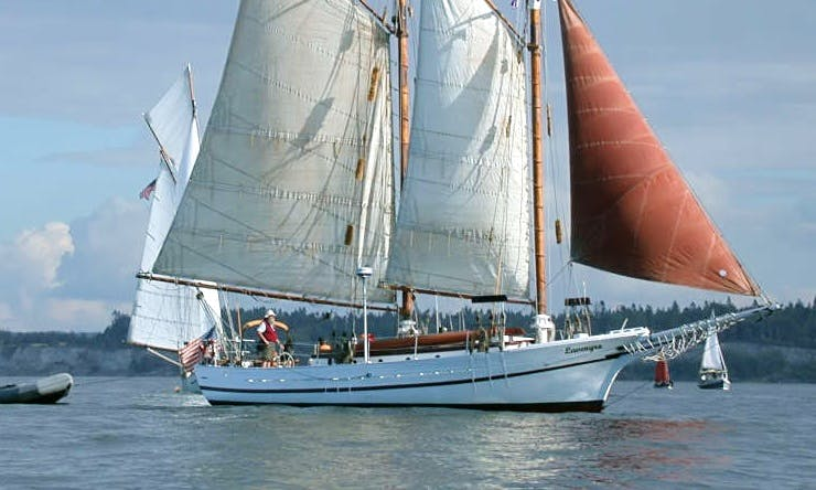 "Captained Charter On 63ft ""Lavengro"" Schooner In Seattle, Washington"