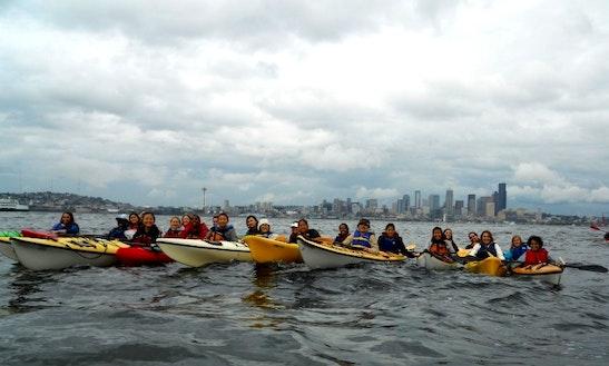 Single Kayak Rental In Seattle