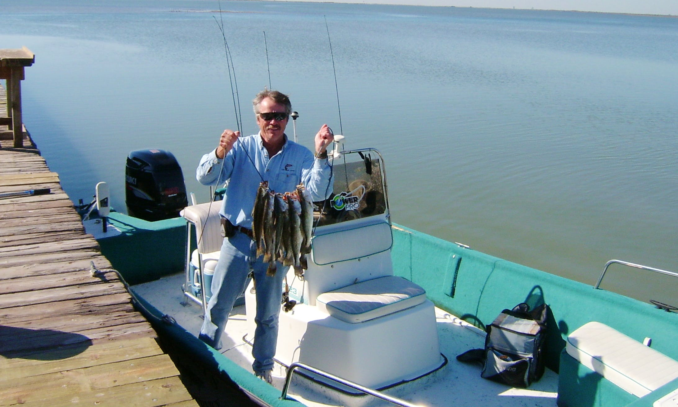 Center Console Fishing Trip in Texas City, Texas